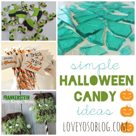 Easy to make candy ideas for Halloween! Check back for more great Halloween ideas in the Trick-or-Treat series!
